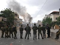 מהומות בקלנדיה /  צלם: בן יוסטר