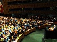 """בנימין נתניהו נושא נאום בעצרת הכללית של האו""""ם /  צילום: אבי אוחיון לע""""מ"""
