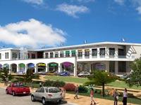 מרכז מסחרי כרמי בנימינה / הדמיה: אבנר שר אדריכלים