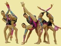 נבחרת ההתעמלות האומנותית, לונדון 2012 / צלם: הוועד האולימפי הישראלי