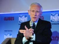 סטנלי פישר בועידת העסקים לישראל / צילום: תמר מצפי