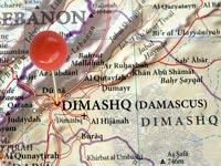 מפה דמשק סוריה / צילום: thinkstock