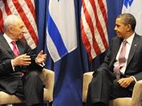 ברק אובמה שמעון פרס / צלם: רויטרס