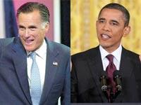 ברק אובמה מיט רומני / צלם:  רויטרס
