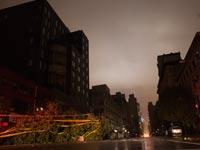 סופת הוריקן סנדי השדרה השישית ניו יורק / צילום: רויטרס