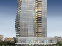 מגדל היוקרה של קבוצת דן ארלוזורוב 17 / הדמיה: משה צור אדריכלים