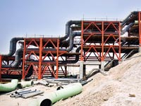 צינורות גז באיראן / צילום: רויטרס