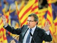 ארתור מאס נשיא קטלוניה/ צילום: רויטרס