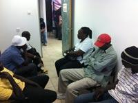 פליטים  דרום תא עובדים זרים סודנים מסתננים  / צלם: רשות האוכלוסין וההגירה