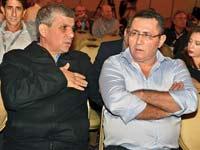 עופר עיני, שלום שמחון, ועידת ישראל לעסקים 2012 / צילום: תמר מצפי