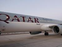 מטוס של חברת התעופה הקטארית קטאר איירווייז / צלם: רויטרס
