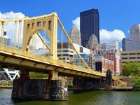 """העיר פיטסבורג בארה""""ב  / צילום: thinkstock"""