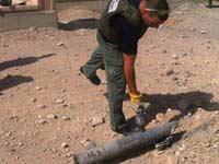 נפילת הרקטות באילת / מתוך אתר משטרת ישראל מחוז דרום