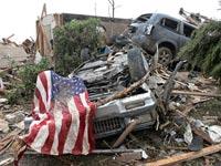 סופת טורנדו באוקלהומה / צילום: רויטרס