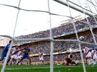 בוקה ג'וניורס מול ריבר פלייט בליגת הכדורגל הארגנטינאית / צלם: רויטרס
