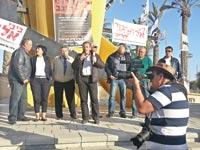 הפגנת עובדי כיל / צילום: יחצ