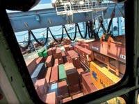 מכולות ליצוא בנמל חיפה / צילום: רויטרס