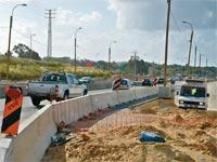 הרחבת כביש החוף / צילום: תמר מצפי