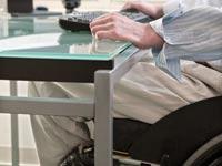 נכה בכסא גלגלים / צילום: thinkstock