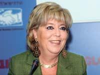מרים פריירברג-איכר, ועידת ישראל לעסקים 2013 / צילום: איל יצהר