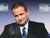 הראל לוקר, ועידת ישראל לעסקים 2013 / צילום: איל יצהר