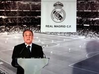 פלורנטינו פרז נשיא ריאל מדריד / צלם: רויטרס