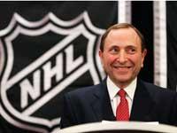 גארי באטמן הקומישינר של ה-NHL / צלם: רויטרס