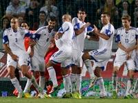 נבחרת ישראל בכדורגל / צילום: רויטרס