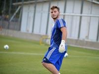 בוריס קליימן שוער הנבחרת הצעירה של ישראל / צלם: תמר מצפי