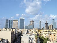 קו הרקיע של תל אביב מתמלא משרדים / צילום: תמר מצפי