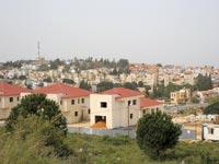 בנייה חדשה באריאל / צילום: איל יצהר