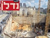 בניית משרדים ברחוב הארבעה בתל אביב / צילום: תמר מצפי