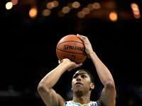 אנתוני דייויס שחקן ניו אורלינס הורנטס מה-NBA / צלם: רויטרס