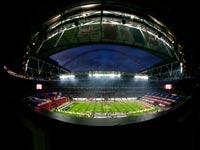 אצטדיון וומבלי בלונדון לפני משחק NFL / צלם: רויטרס