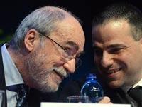 אשר גרוניס ודורון ברזילי/ צילום: איל יצהר
