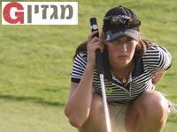 לטיסיה בק / צילום: נמרוד גליקמן - באדיבות איגוד הגולף בישראל