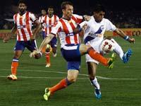 מומבאי מול קולקטה, הליגה ההודית בכדורגל, ISL / צלם: רויטרס