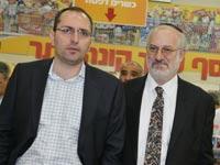 אדוארדו אלשטיין  ומוטי בן משה / צילום: תמר מצפי