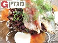 דג על עדשים של מסעדת דלאל / צלם:אסף אברהם