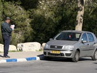 פקח חניה / צילום: אריאל ירוזלמסקי