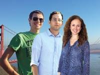 נעמה שטאובר, אבנר גלר ודן רווה / צילום: תמונות פרטיות