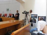 שידור וידיאו ניסיוני מדיון בבית המשפט העליון / צילום: יחצ