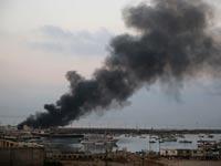 צוק איתן - נמל עזה / צילום: רויטרס