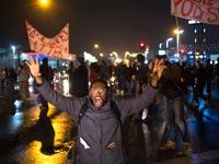 הפגנות בפרגוסון / צילום: רויטרס