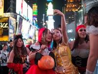 ליל כל הקדושים בניו יורק / צילום: רויטרס
