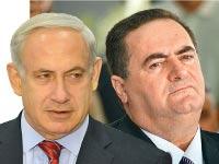 ישראל כץ בנימין נתניהו / צילום: תמר מצפי