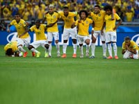 נבחרת ברזיל מונדיאל 2014 / צילום: רויטרס
