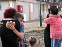 תושבי קיבוץ נחל עוז / צילום: רויטרס