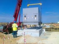 תחנת דוראד בעת בנייתה / צילום: יחצ