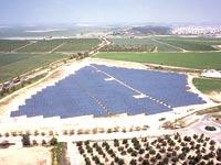 שדה סולארי ליד משמר הנגב / צילום: EN-EDF ישראל
